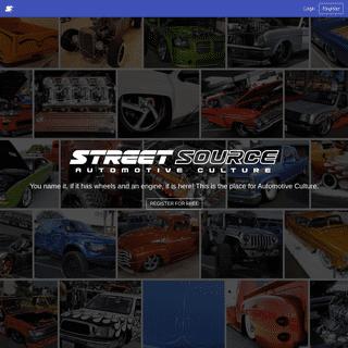 Street Source - Automotive Culture