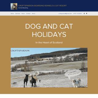Home - Croftspardon Boarding Kennels & Cat Resort