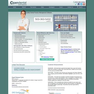 Open Dental Software - Open Source Practice Management