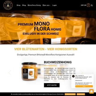 Bester Honig, Schweiz - BHoneyB - Premium Monoflora Honig Kaufen