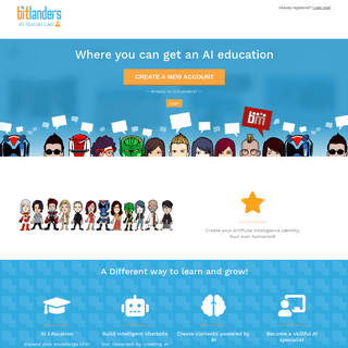 bitLanders, AI Social Lab