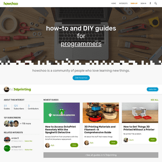 How-to and DIY Guides for Makers, Programmers, and Everyone - Howchoo