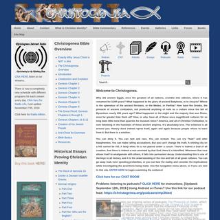 Christogenea.org - Christianity for the Thinking Man