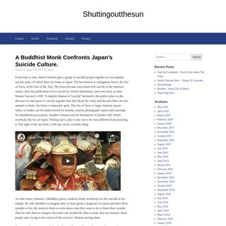 Shuttingoutthesun -