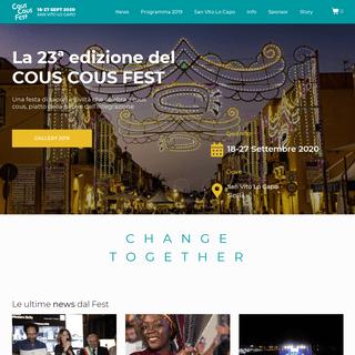 Cous Cous Fest – International Festival of Cultural Integration