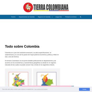 ▷ Colombia Informacion del pais - Tierra Colombiana
