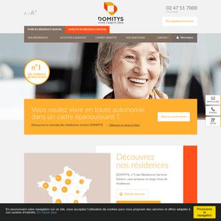 Vivre en Résidence Services Seniors - DOMITYS® Officiel