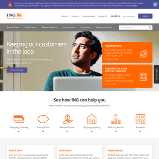 ING - Personal and Business Banking. How banking can be.