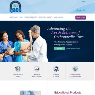NAON - National Association of Orthopaedic Nurses