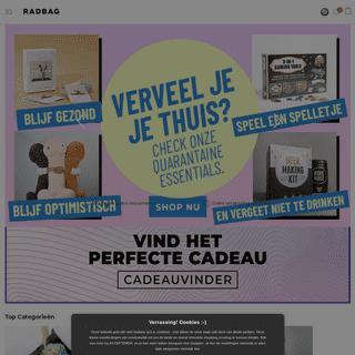 ArchiveBay.com - radbag.nl - Originele cadeaus, gadgets en grappige cadeaus