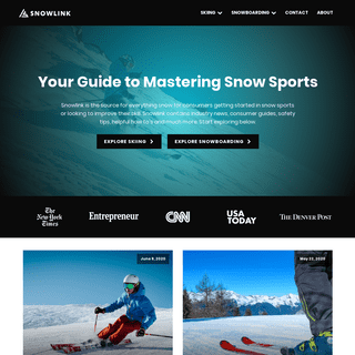 Snowlink - Your Guide to Mastering Snow Sports