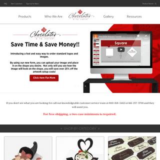 Welcome - Chocolates A La Carte