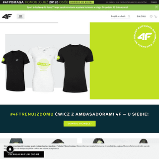 4F - odzież, obuwie oraz akcesoria sportowe na miarę olimpijską.