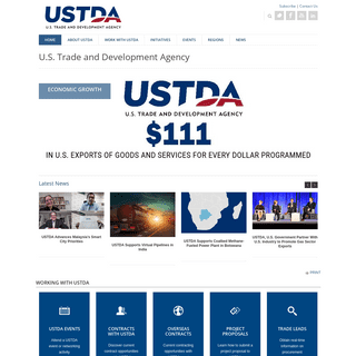 USTDA.gov -