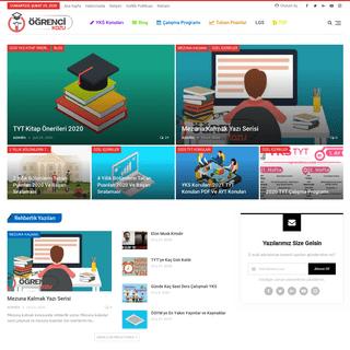 Ana Sayfa • Öğrenci Kozu