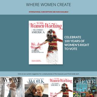 Home - Where Women Create