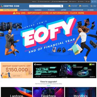 EOFY Sale 2020 - Centre Com - Best PC Hardware Prices!
