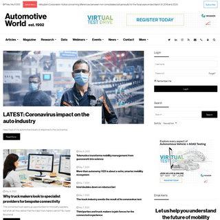 Automotive World - Let us help you understand the future of mobility
