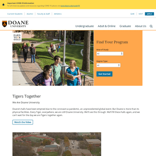 ArchiveBay.com - doane.edu - Doane University - Earn Your Shield - Nebraska Colleges