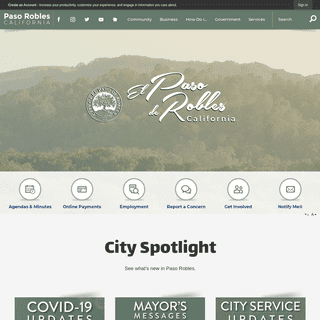 Paso Robles, CA - Official Website