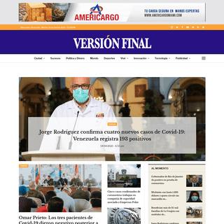 Diario Versión Final – El Diario Plural del Zulia