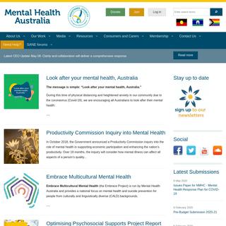 Mental Health Australia -