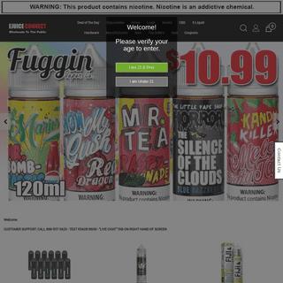 #1 Online Vape Shop - Buy Premium E-Liquids - E-Cigs Vaping Mods Lowest Price - Ejuice Connect
