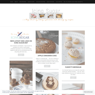 Icing Sugar - An amateur baker's experience ;) Welcome to my little Baking Diary about my experiences with baking. I want to giv