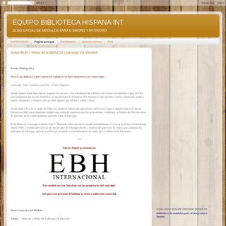 ArchiveBay.com - eswordbibliotecahispana.blogspot.com - EQUIPO BIBLIOTECA HISPANA INT