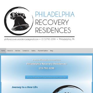 Home - Philadelphia Recovery Residences - Unique Philadelphia Recovery House Experience