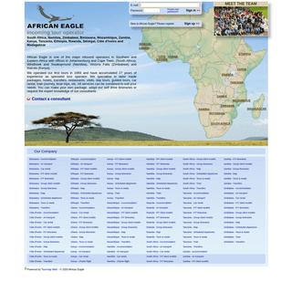 ArchiveBay.com - africaneagle.com - Tour operator - tailor made specialist