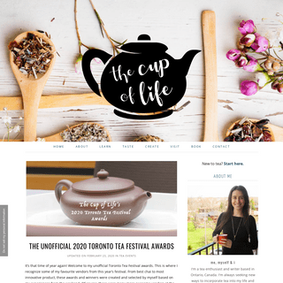 The Cup of Life - the best blog for tea lovers
