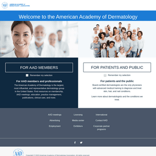 ArchiveBay.com - aad.org - American Academy of Dermatology
