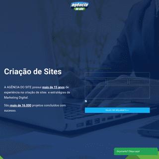 Agência do Site - Criação de Sites, Criar Site, Construção de Sites