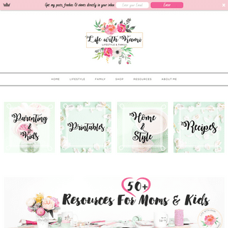 Resources for Moms and Kids - Life With Kami