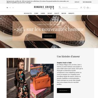 Bongénie-Grieder - Mode luxe Femme & Homme- prêt-à-porter de créateurs, vêtements & accessoires de marque