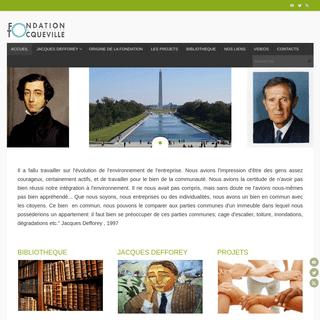ArchiveBay.com - fondation-entreprise-tocqueville.fr - Fondation entreprise Tocqueville – De 1993 à 1998