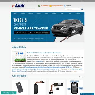 GPS Tracker Manufacturer - GPS & IoT Device Solutions - Eelink