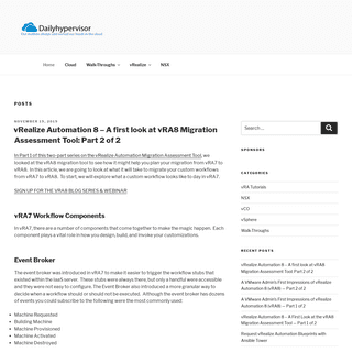 Dailyhypervisor – Your daily dose of cloud and automation!