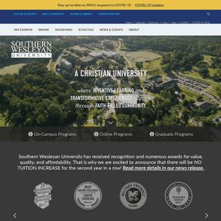 Christian College in South Carolina - Southern Wesleyan University