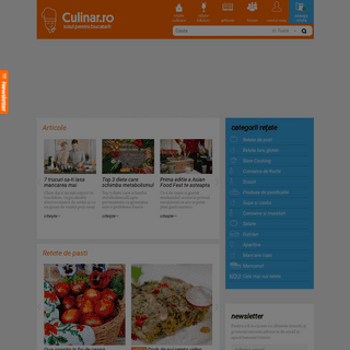 Retete culinare in imagini si diete - culinar.ro