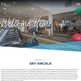 ArchiveBay.com - skyancalaapartments.com - Apartments for Rent in Scottsdale - Sky Ancala