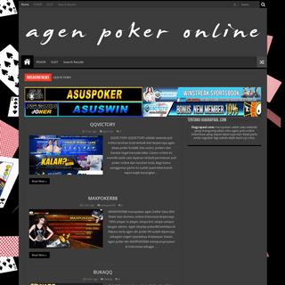 Daftar Situs Poker Slot Bola Togel PKV Online Terpercaya -