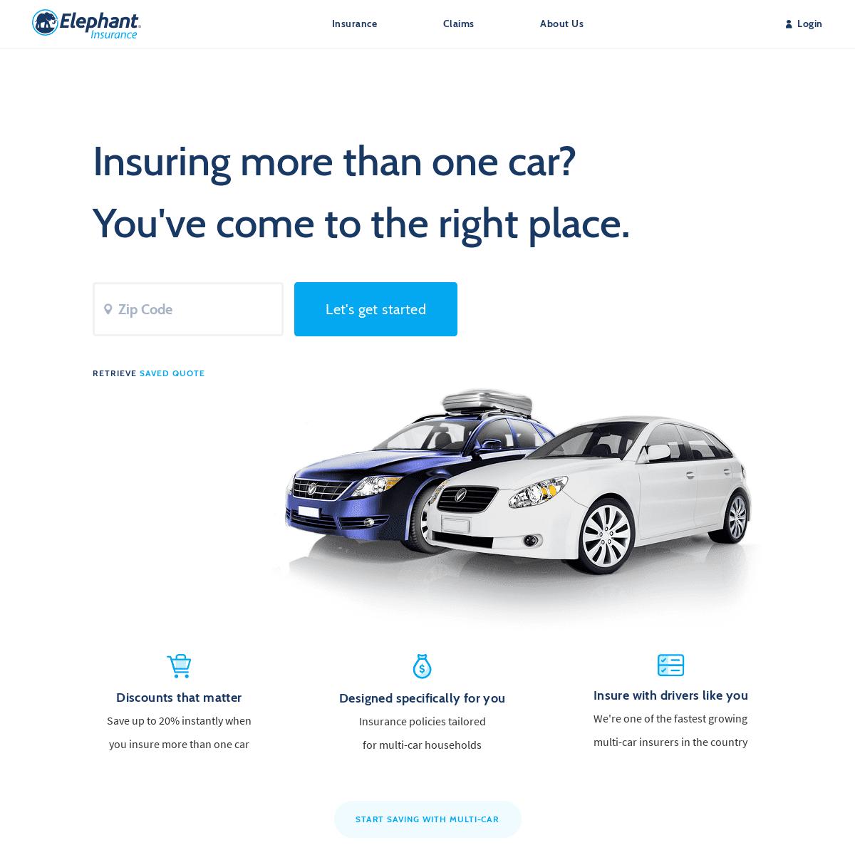Elephant Insurance - Car Insurance That Makes Sense