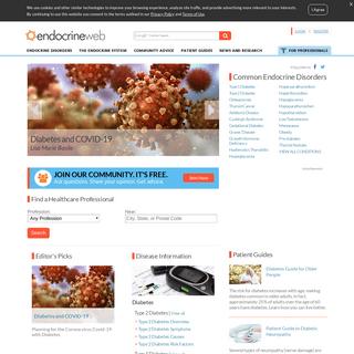Patient Homepage - EndocrineWeb