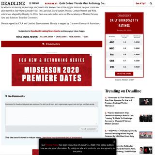 Laura Dern Set To Have 'Just One Drink' In New Quibi Series – Deadline