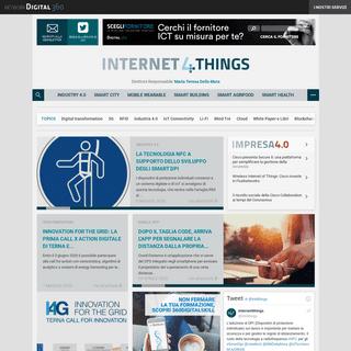 I4T - Tutto sull'IoT (Internet of Things) per le aziende
