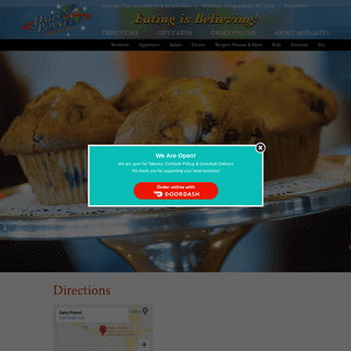 Daily Planet Diner – Eating Is Believing!