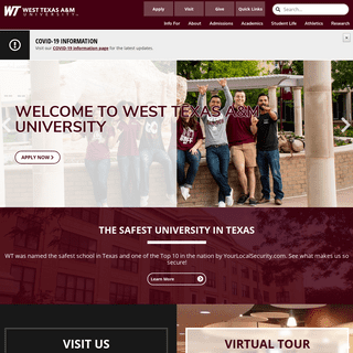 ArchiveBay.com - wtamu.edu - West Texas A&M University - WTAMU