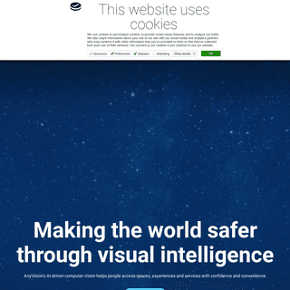 AnyVision - AI-driven computer vision for a safer world